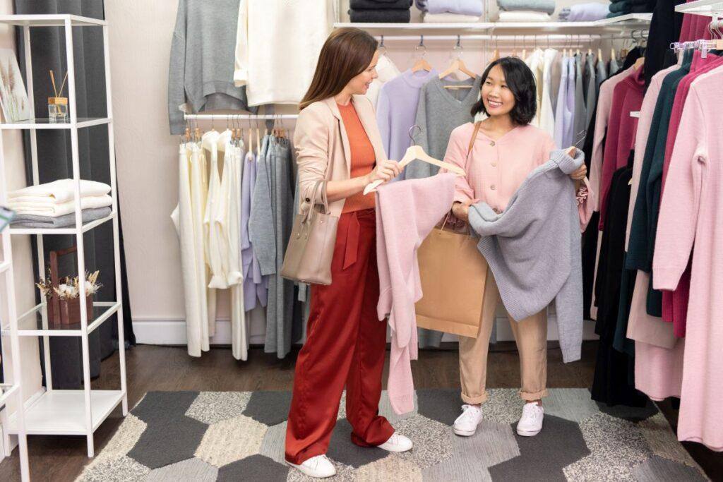 Sklep dla kobiet odzieżowy